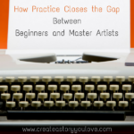 How Practice Closes the Gap Between Beginners and Master Artists