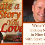 004  Write Your Fiction Novel in Nine Days with Steve Windsor