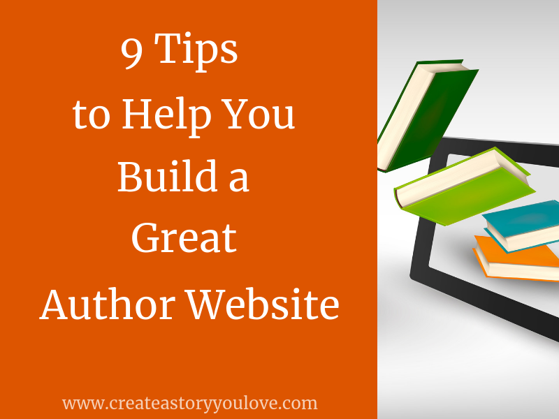 9 Tips to Help You Build a Great Author Website